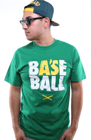 Baseball (Men's Kelly Green Tee)