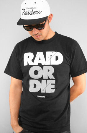 Raid Or Die (Men's Black Tee)