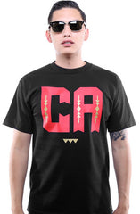 Cukui X Adapt :: CA (Men's Black/Red Tee)