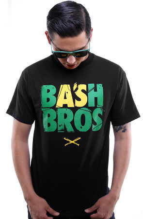 Bash Bros (Men's Black Tee)