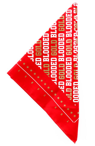 Gold Blooded (Red Bandana)