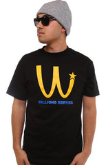 Billions Served (Men's Black Tee)