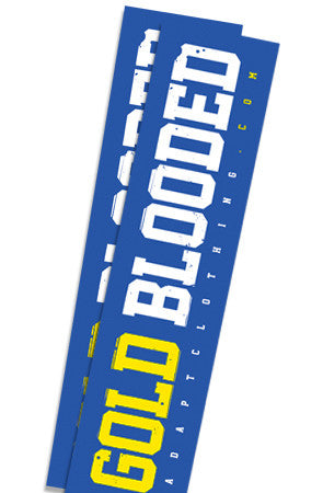 Gold Blooded (Royal Sticker 2-Pack)