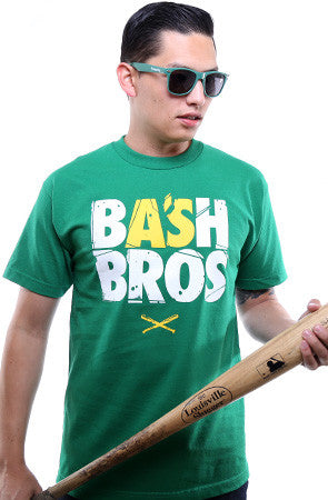 Bash Bros (Men's Kelly Green Tee)