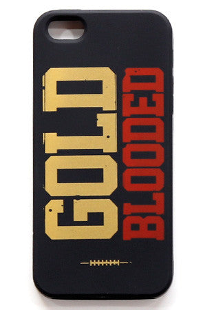 GOLD BLOODED (iPhone 5 Case)