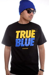 LAST CALL - TRUE X Adapt :: True Blue (Men's Black Tee)
