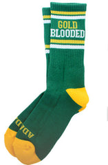 Gold Blooded (Green Socks)