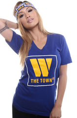 The Town (Women's Royal V-Neck)