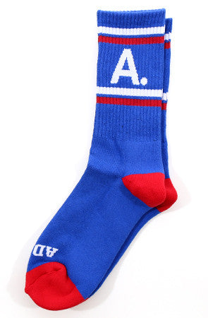 A-Type (Blue/White/Red Socks)