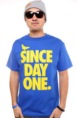 Since Day One (Men's Royal Tee)