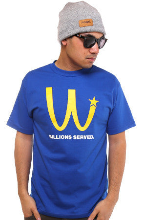 Billions Served (Men's Royal Tee)