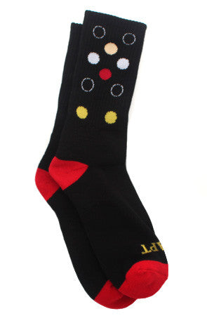 Dot Matrix (Black Socks)