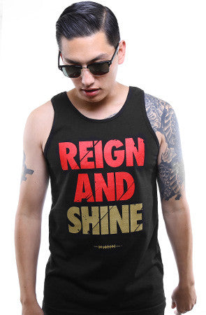 Reign and Shine (Men's Black Tank)