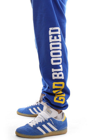 GOLD BLOODED Men's Royal Sweats