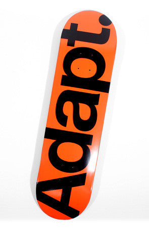 CTA (Orange/Black Skateboard Deck)