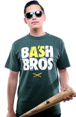 Bash Bros (Men's Dark Green Tee)