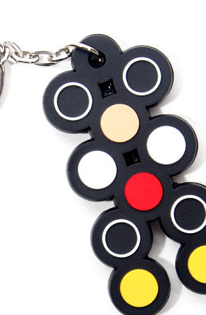 Dot Matrix (Black Keychain)