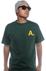 A-Type (Men's Forest/Gold Tee)