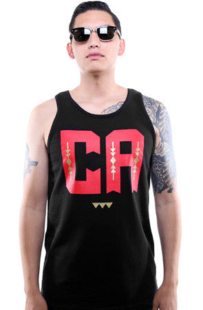 Cukui X Adapt :: CA (Men's Black/Red Tank)