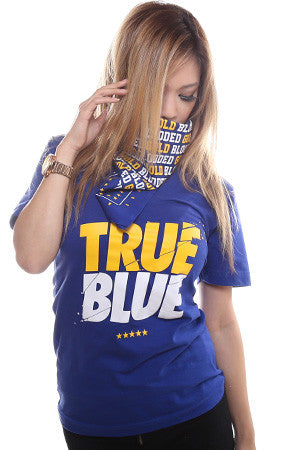 TRUE x Adapt :: True Blue (Women's Royal V-Neck)