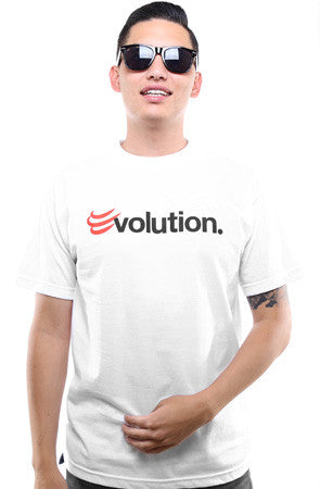 BLOX Evolution X Adapt :: Evolution (Men's White Tee)