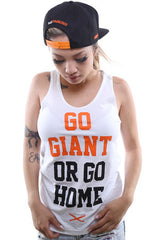Go Giant (Women's White Tank Top)