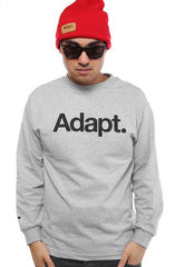 CTA (Men's Heather Long Sleeve Tee)