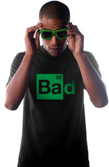 Bad (Men's Black Tee)