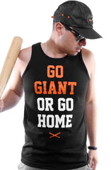 Go Giant (Men's Black Tank)