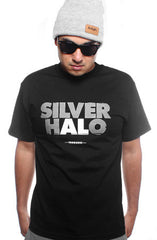 Silver Halo (Men's Black Tee)