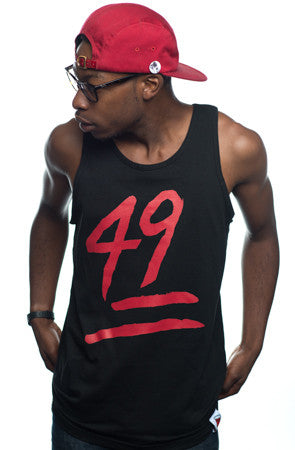 Booger Kids X Adapt :: Keep It 49 (Men's Black Tank)