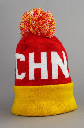 LAST CALL - Fully Laced X Adapt :: China (Red/Gold Beanie)
