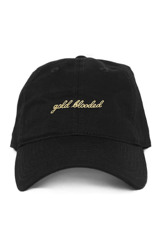 Gold Blooded (Black Low Crown Cap)