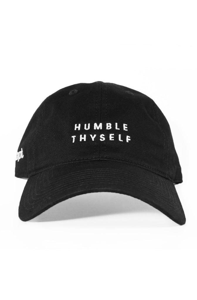 Humble Thyself (Black Low Crown Cap)