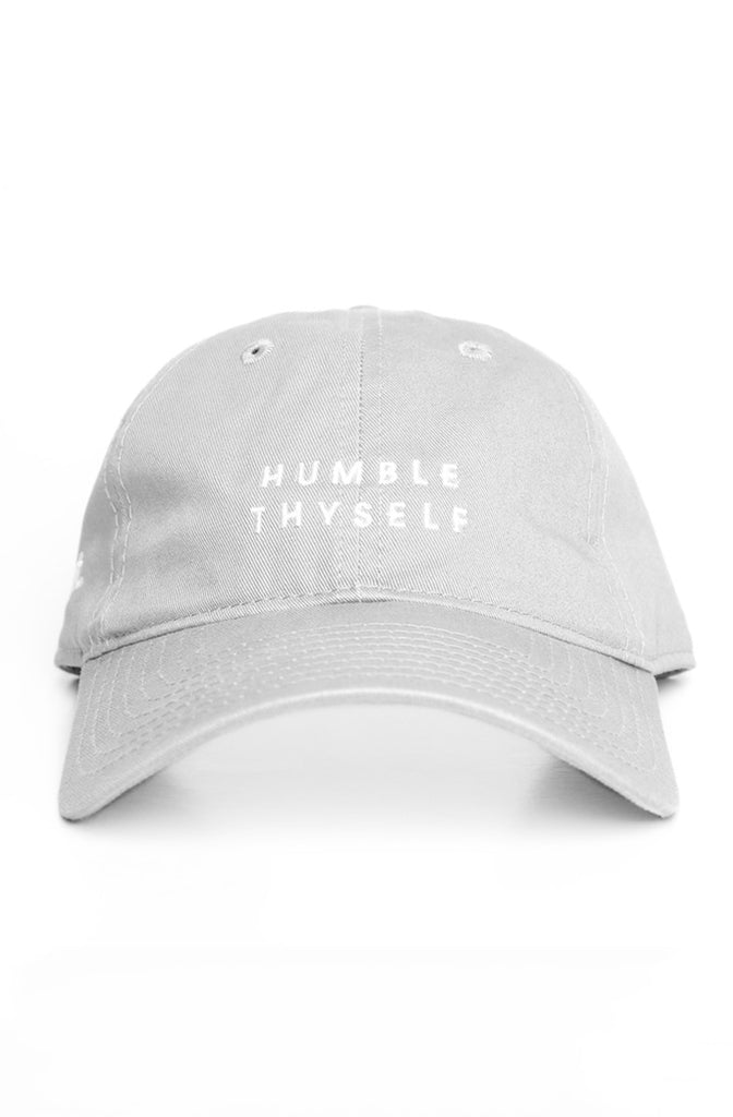 Humble Thyself (Silver Low Crown Cap)
