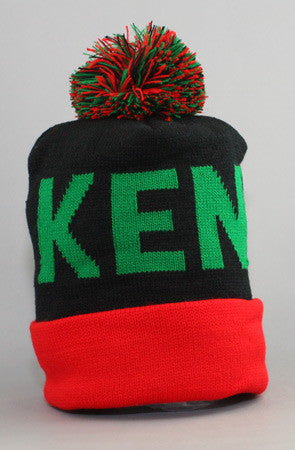 LAST CALL - Fully Laced X Adapt :: Kenya (Black/Red Beanie)