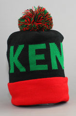 Fully Laced X Adapt :: Kenya (Black/Red Beanie)
