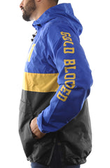 SAVS X Adapt :: Gold Blooded Chiefs (Men's Royal/Black Anorak Jacket)