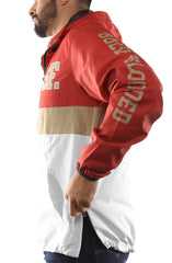 SAVS X Adapt :: Gold Blooded Chiefs (Men's Red/White Anorak Jacket)