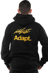 ILLEST X Adapt ::  Believe (Men's Black Hoody)