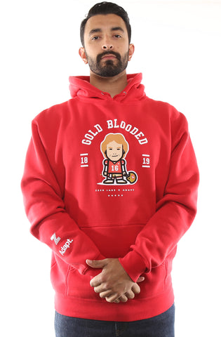 Zeeb Labs x Adapt :: Nemoji 16 (Men's Red Hoody)
