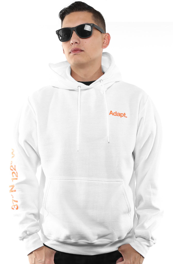 SF City (Men's White Hoody)