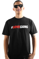 2ONDRE3000 x Adapt :: #LOVEGANG (Men's Black Tee)