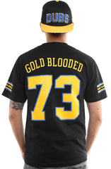 Gold Blooded Royalty :: 73 (Men's Black Tee)