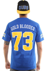 Gold Blooded Royalty :: 73 (Men's Royal Tee)