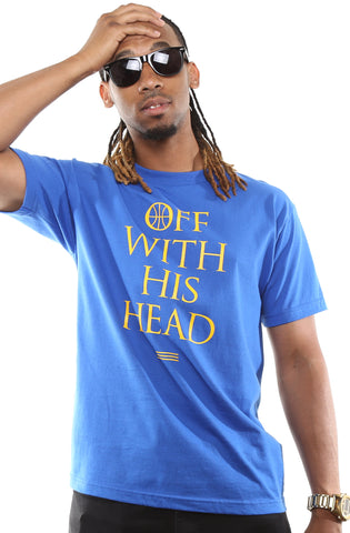 Off With His Head (Men's Royal Tee)