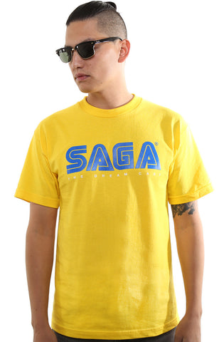 Saga (Men's Yellow Tee)