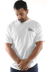 LAST CALL - The Adapt Podcast Pocket (Men's White Tee)
