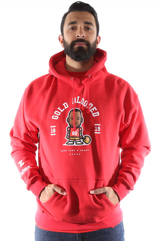 Zeeb Labs x Adapt :: Nemoji 80 (Men's Red Hoody)