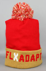 Fully Laced X Adapt :: SFC (Red/Gold Beanie)
